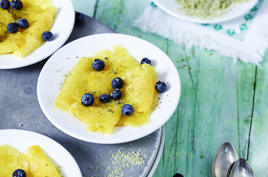 Rezept: Ananas Carpaccio