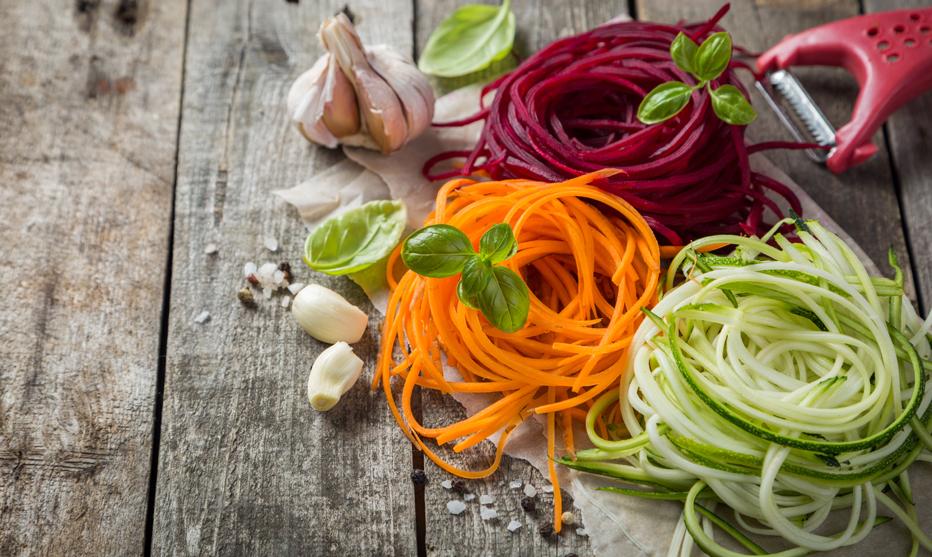 Leicht und lecker: Gemüsenudeln