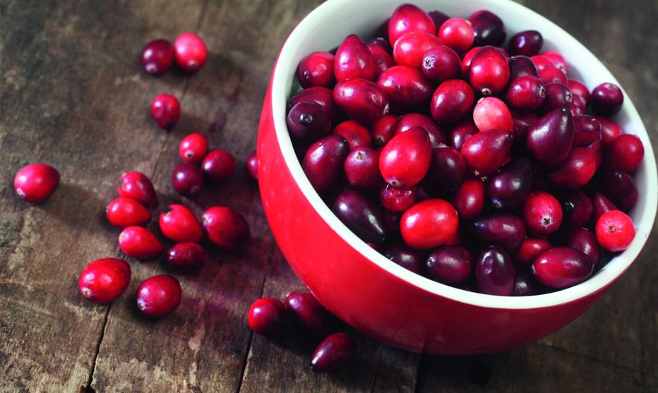 Jetzt gibts Cranberrys