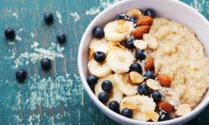 Porridge am Morgen