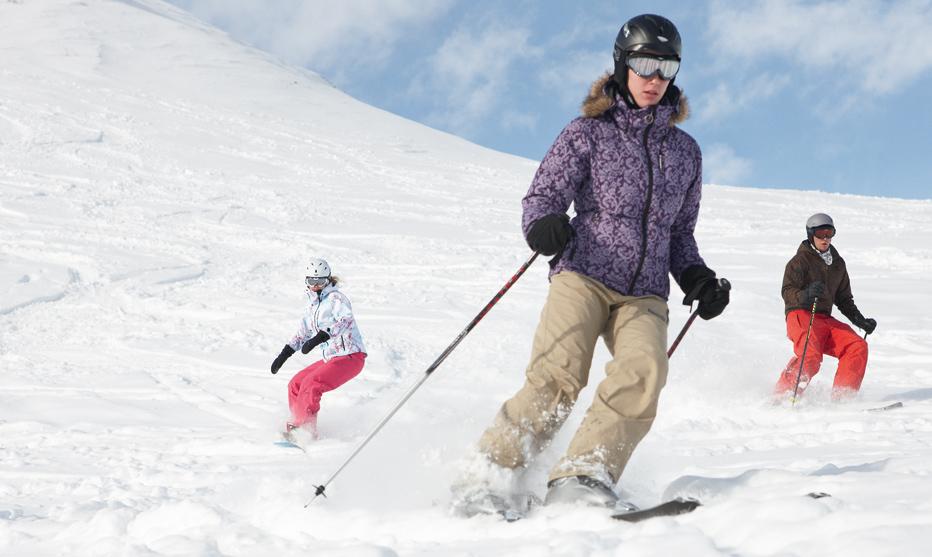 Power fürs Skifahren