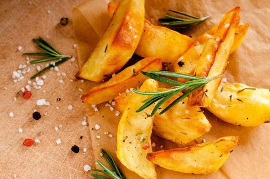 Rezept: Rosmarinkartoffeln mit Zander